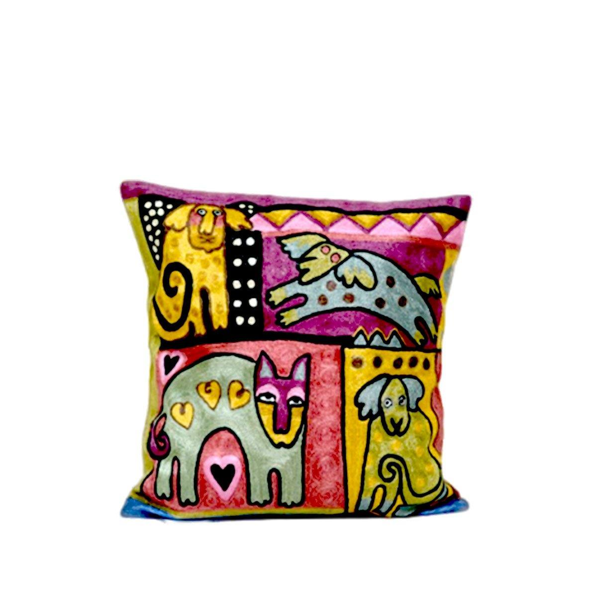 Touy Embroidery Cushions
