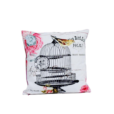 Black Cage Digital Printed Cushion