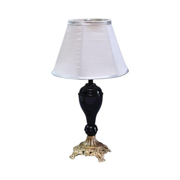 Traditional Black Table Lamp