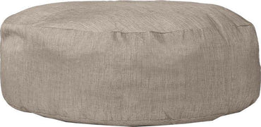 Relaxsit Puffy Fabric Bean Beg-Brown