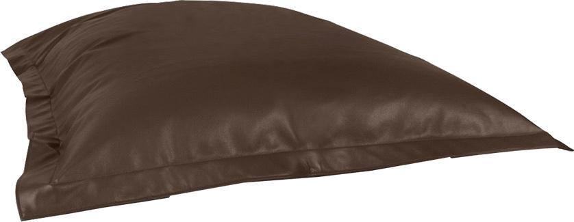 GIANT Bean Cushion Leatherite-Black-L