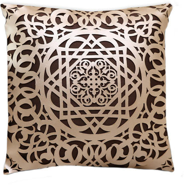 Termez Aplic Leatherite Cushion Cover