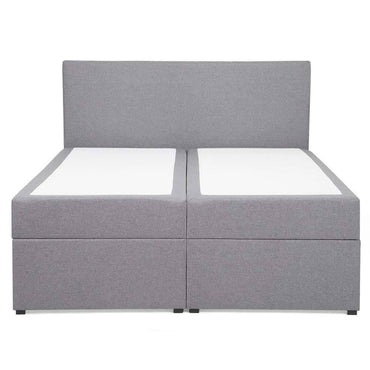 Fabric Super King Divan Bed Grey