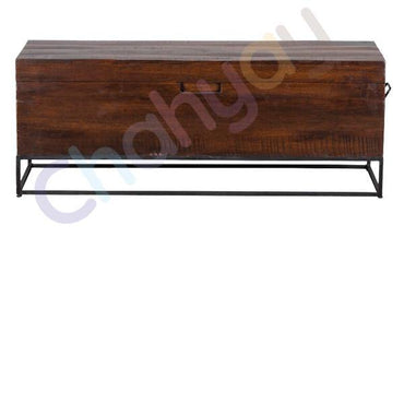 Sheesham Wood Storage Bench