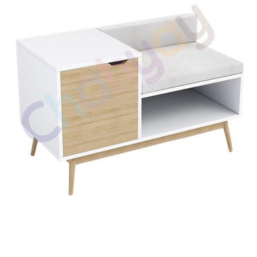 Capri Sectional Wood Storage Bench