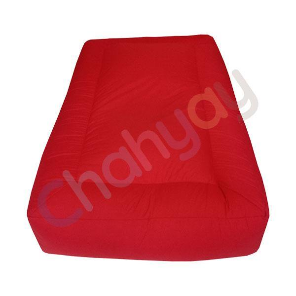 Red Colored Kids Bean Bag Mattress