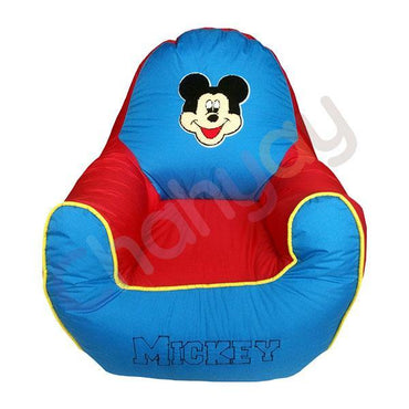 Mickie Motif Kids Bean Bag Sofa