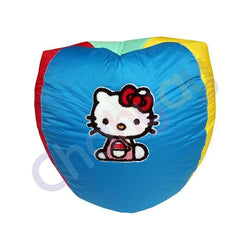 Kittie Motif Kids Bean Bag