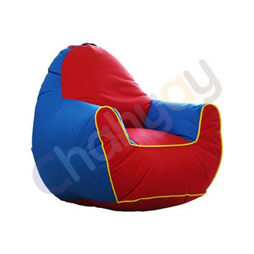 Red & Blue Kids Bean Bag Sofa