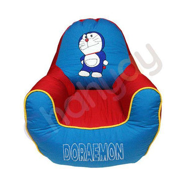 Doremon Motif Kids Bean Bag Sofa