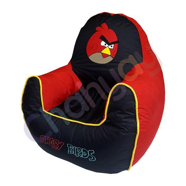Angry Bird Motif Kids Bean Bag Sofa