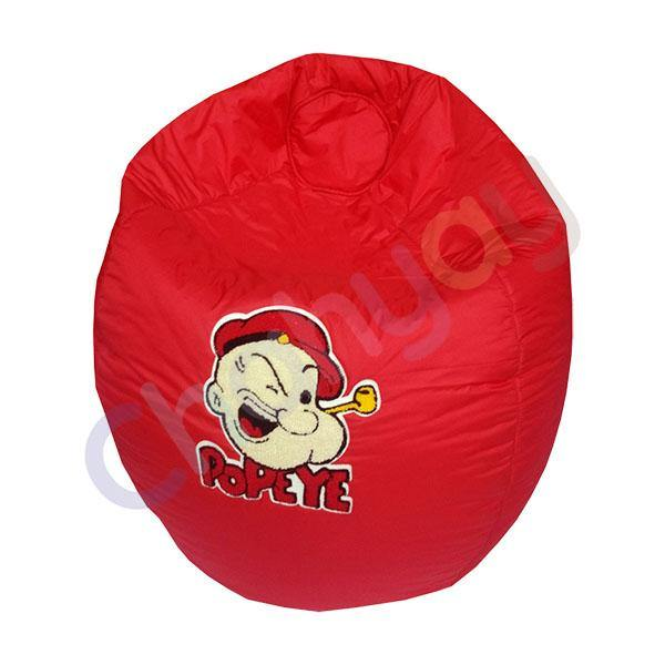 Popeye Motif Kids Bean Bag