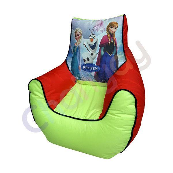 Olaf Printed Kids Bean Bag Sofa
