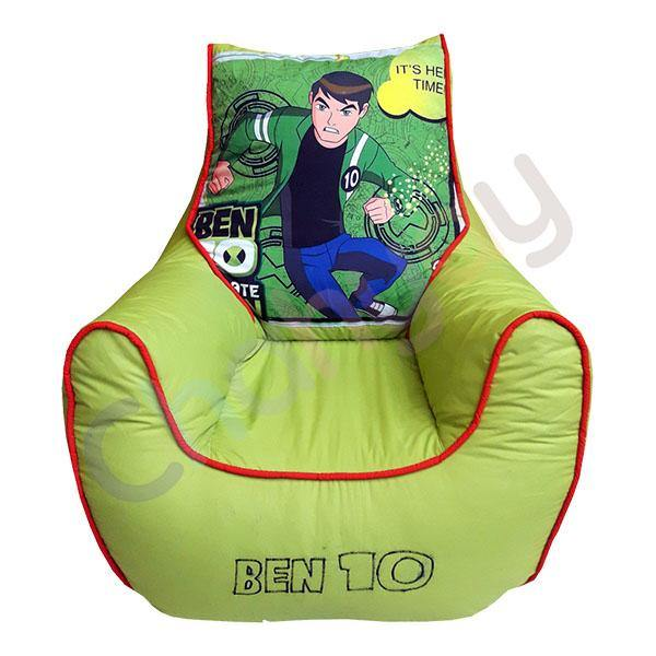 BenTen Printed Kids Bean Bag Sofa