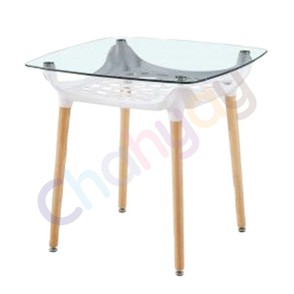 MODERNO Glass Top Table