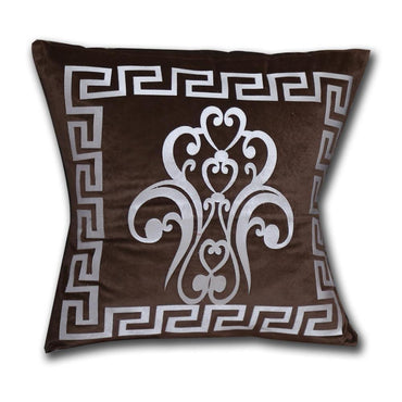Brown Fury Cushion Cover