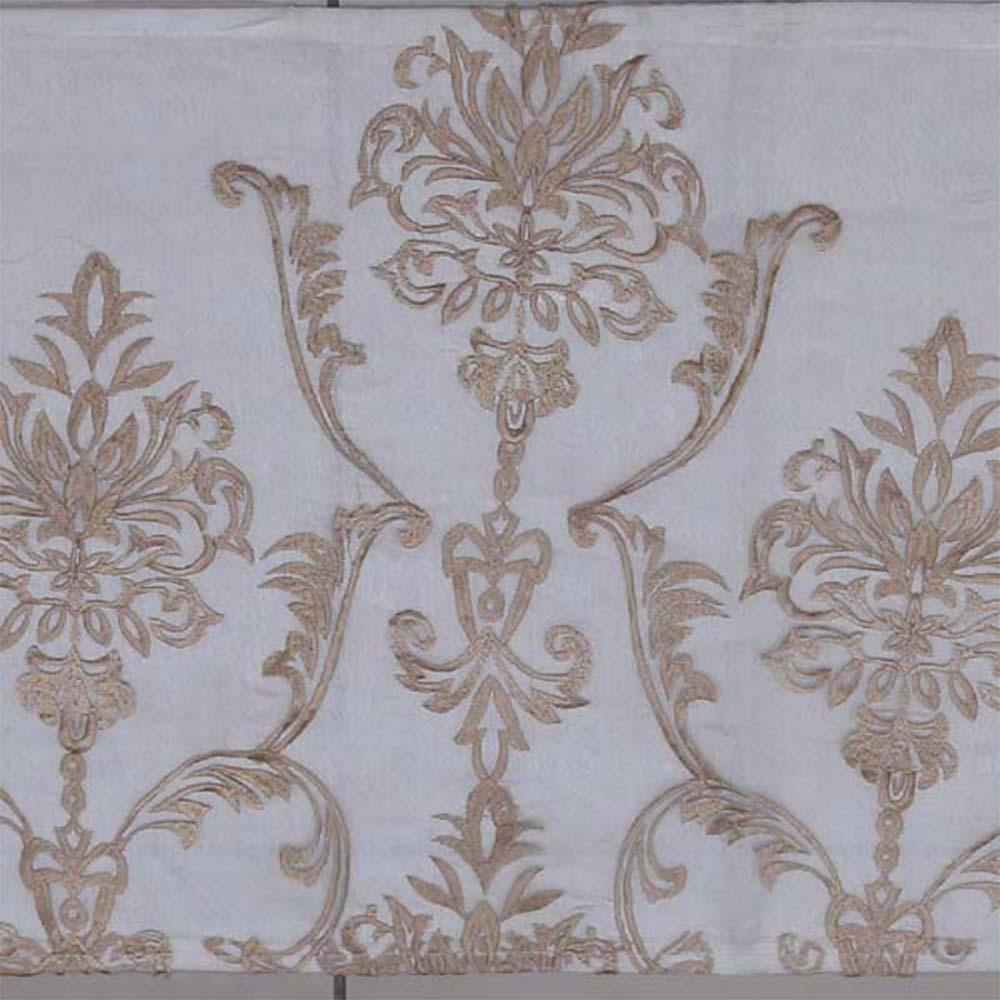 Designer Motive Pattern Bronze Decorative Table Runner