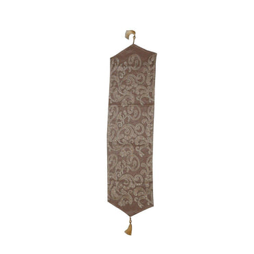Brown Widowed Designer Table Runner