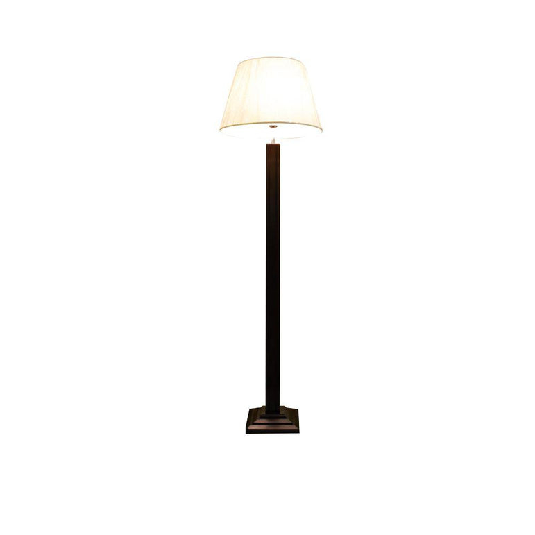 Lincoln Wooden Floor Lamp