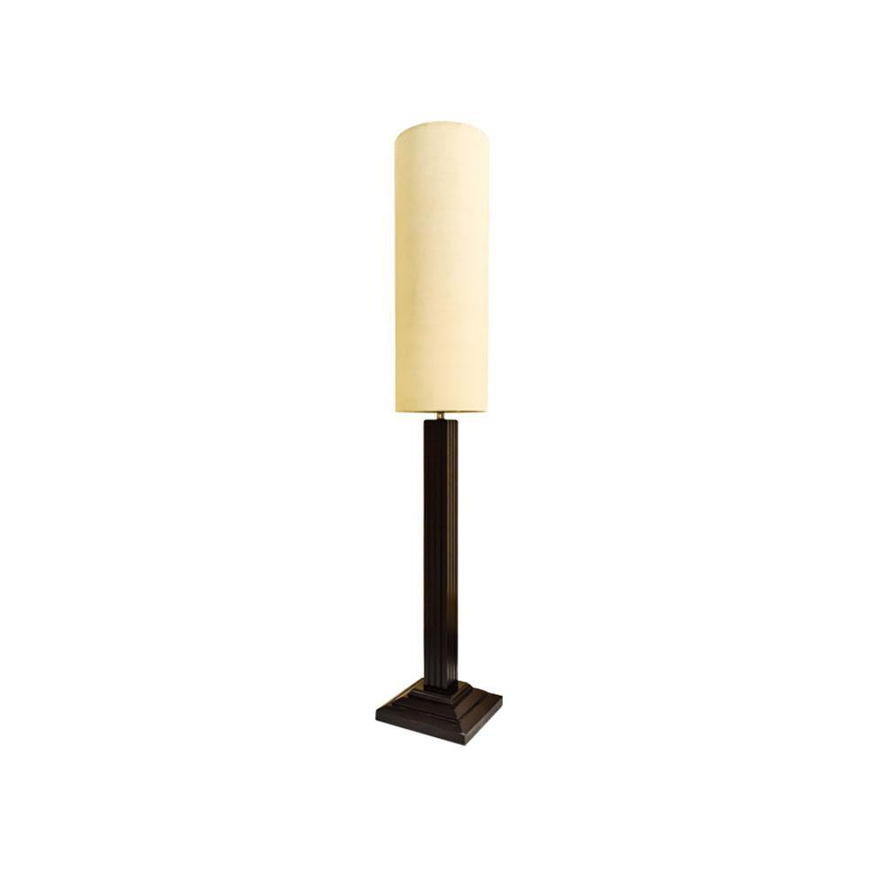 John Wooden Floor Lamp