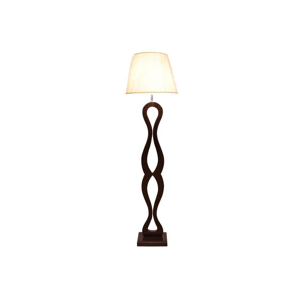 Bellick Wooden Floor Lamp