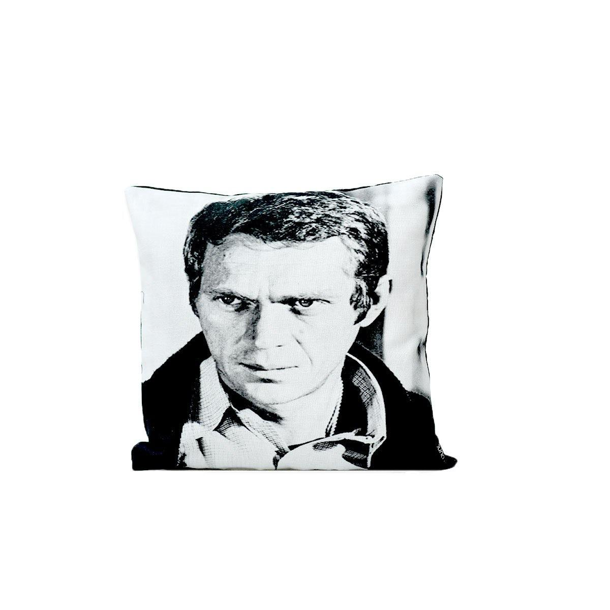 Steve Mcqueen Digital Cushion