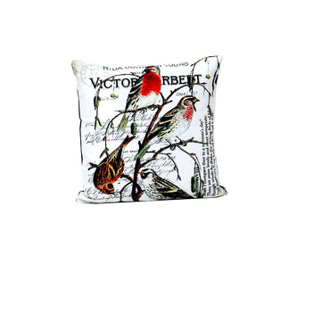 long tail sparrow digital cushion