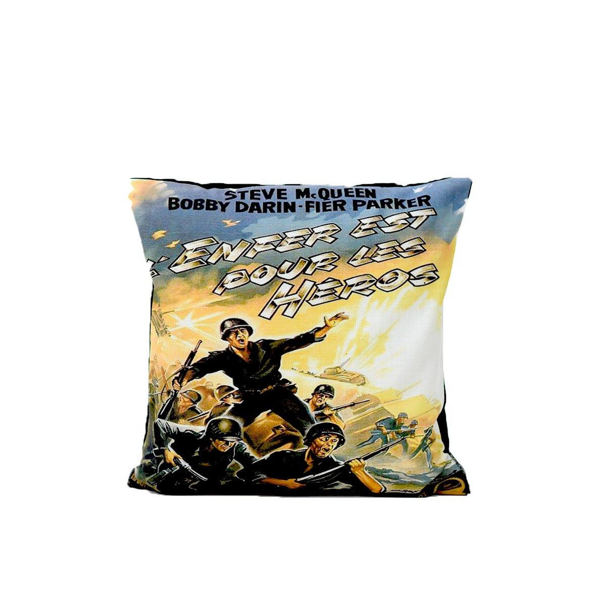 Hell Heroes digital cushion