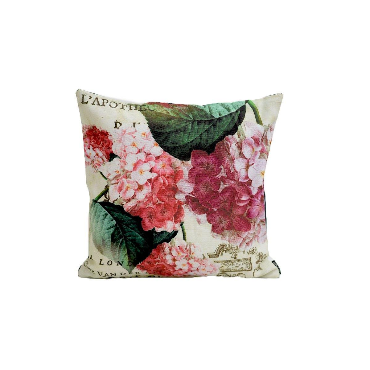 Flower Illustration Digital Cushions