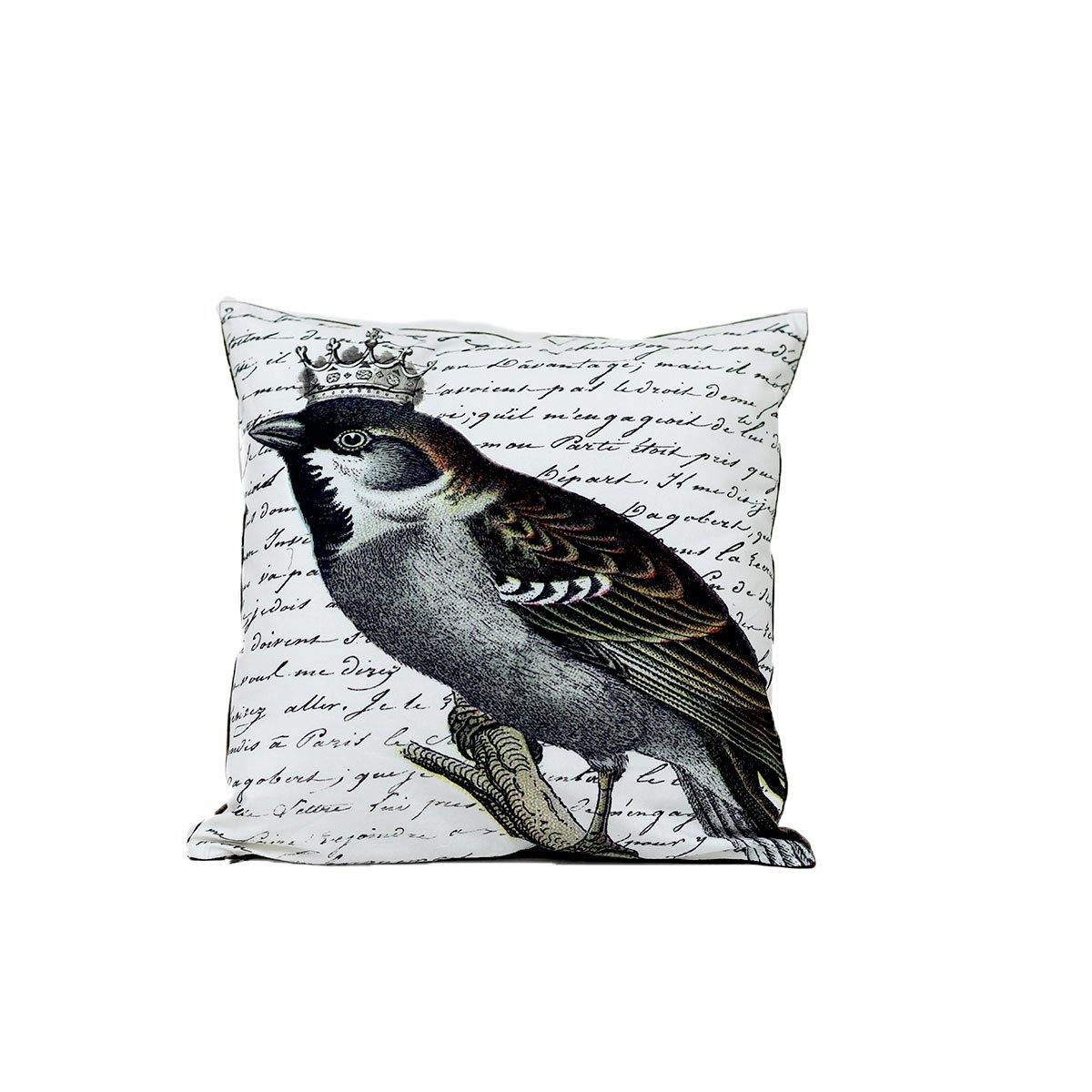 Black Sparrow Digital Cushion