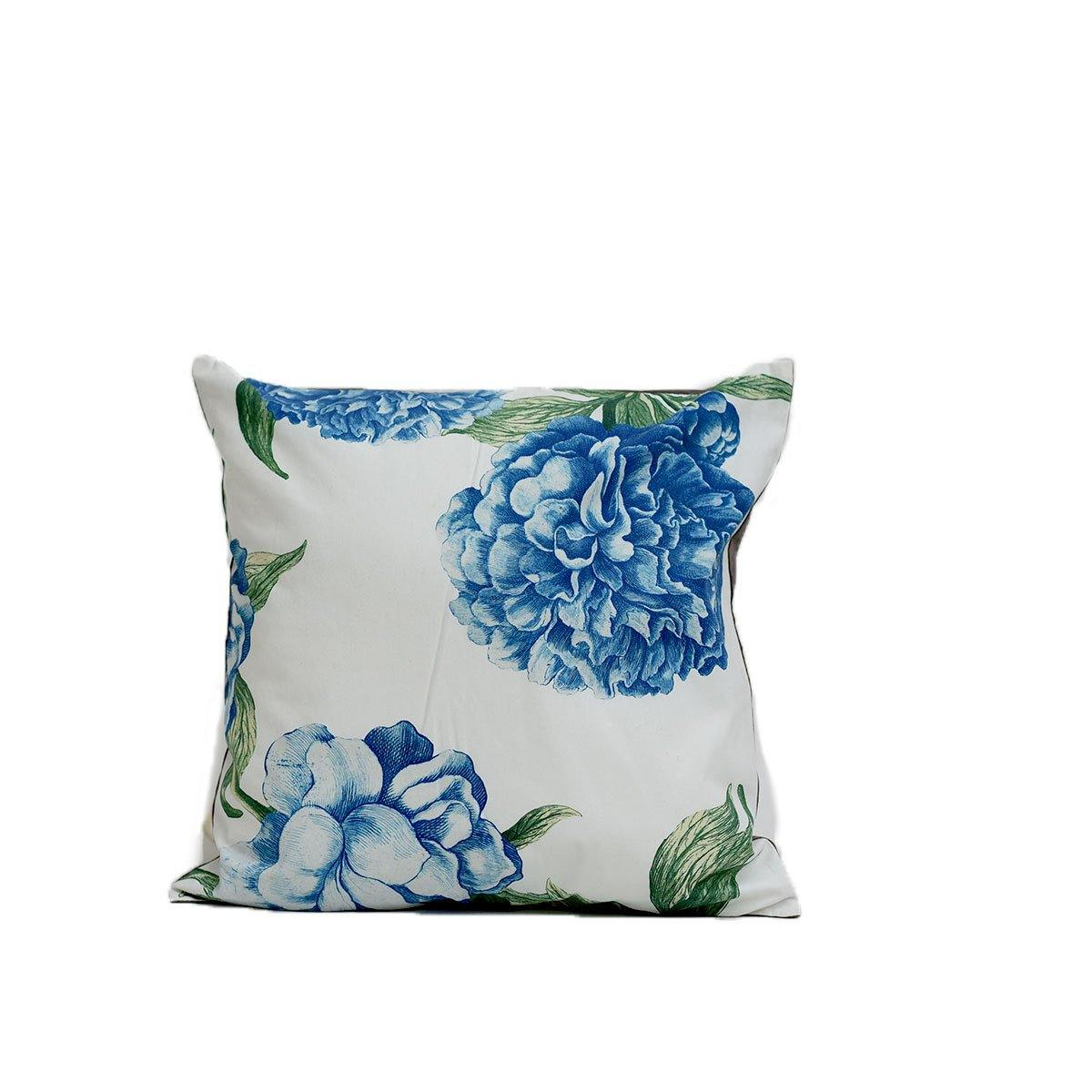 Blue Flower Digital cushion