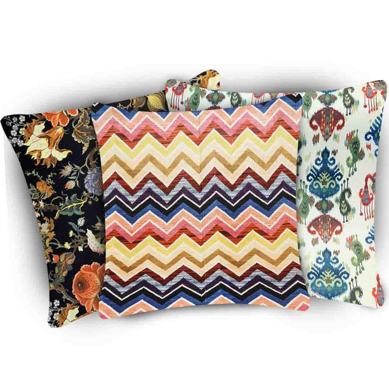 Set of 3 Digital Cushion Covers