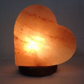 Salt Lamp Heart Shape