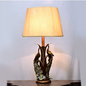 Hildimar Peacock Table Lamp