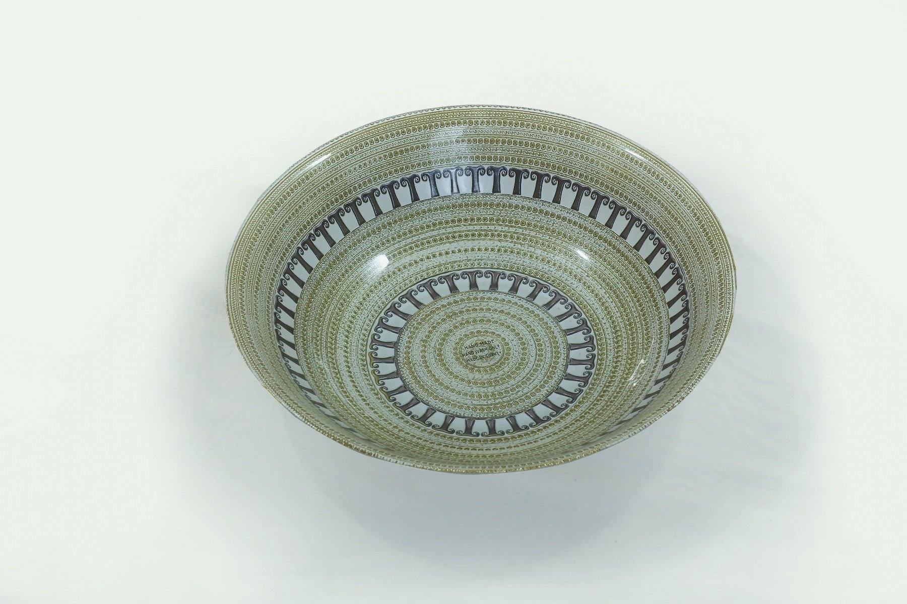 Deco Babil Gold White Taupe Bowl