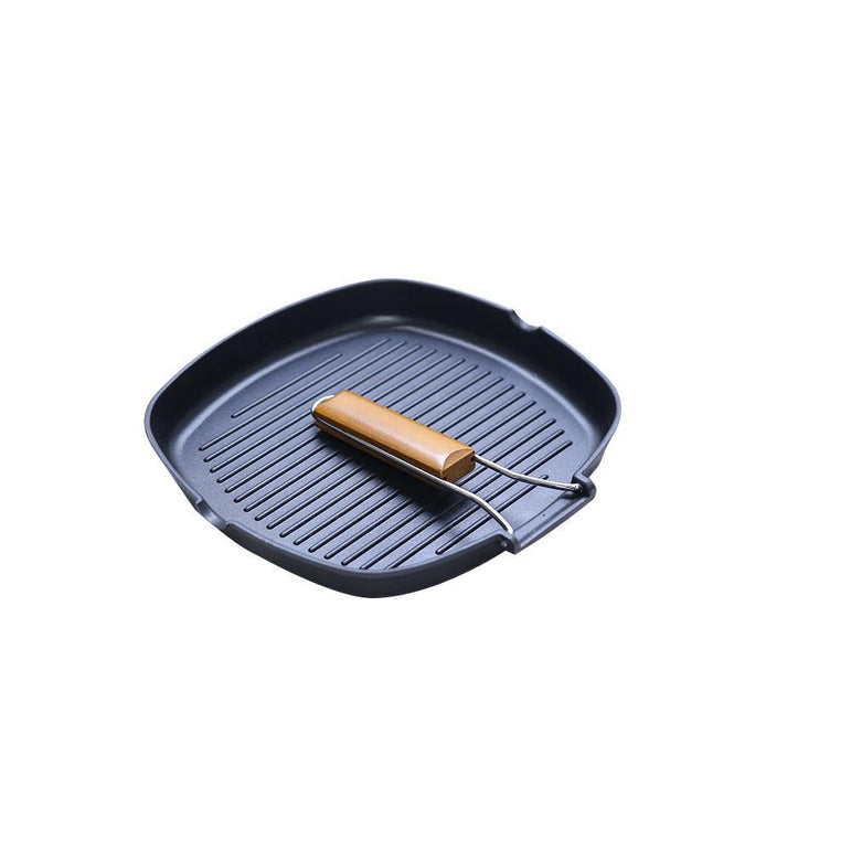 Grill Pan Folded Handle