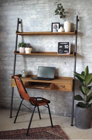 Vintage Ladder Study Desk