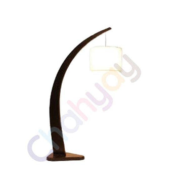 Arch Wooden Floor Lamp
