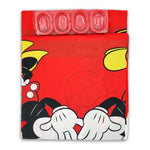 Mickey & Minnie Mouse - Shower Curtain with 12 Hooks