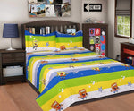 Kids Luxurious Cotton Bedsheet with 2 Pillow Covers