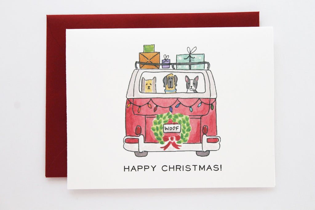 Holiday Carpool Card