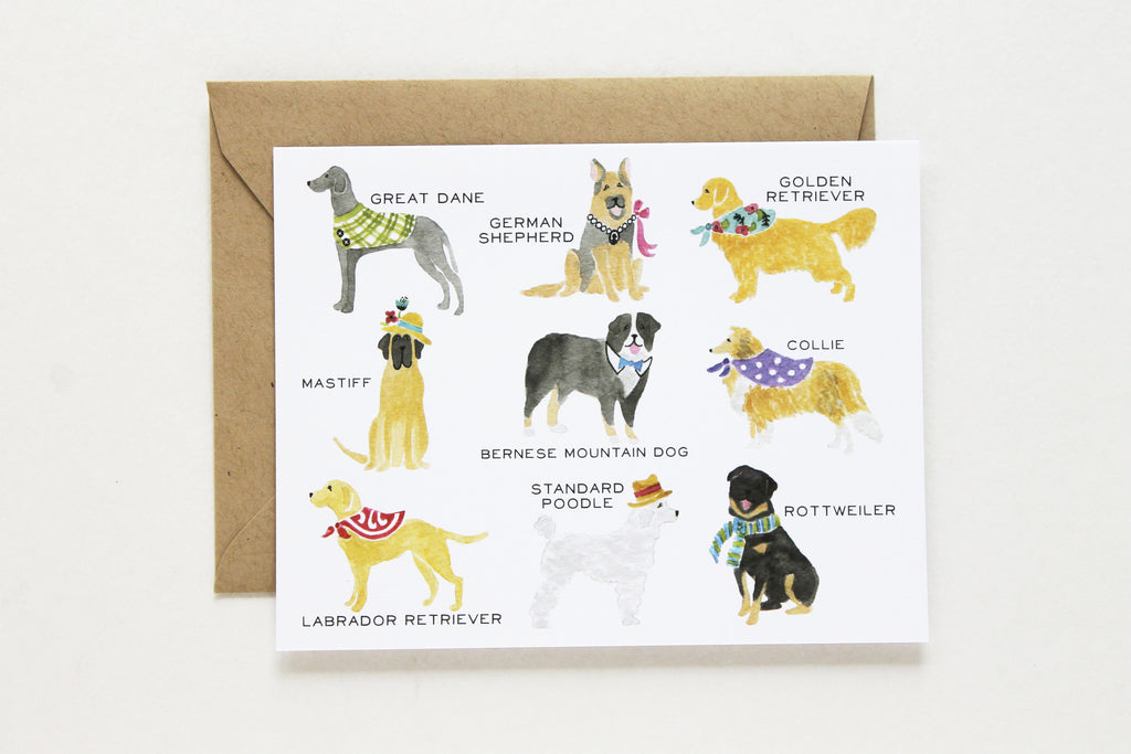 Talls Dog Collection Card