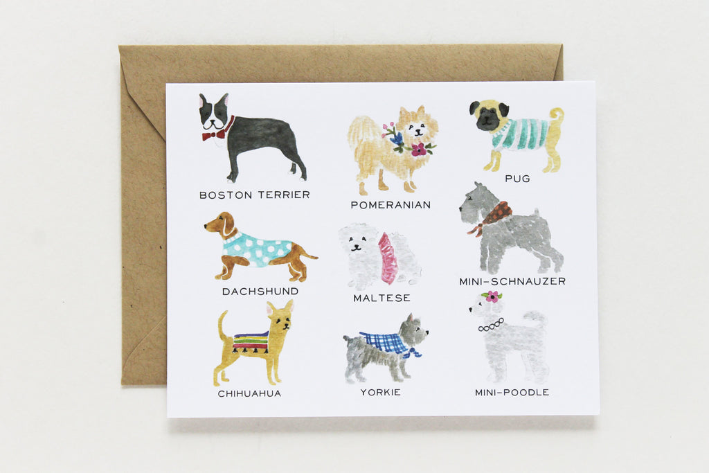 Smalls Dog Collection Card