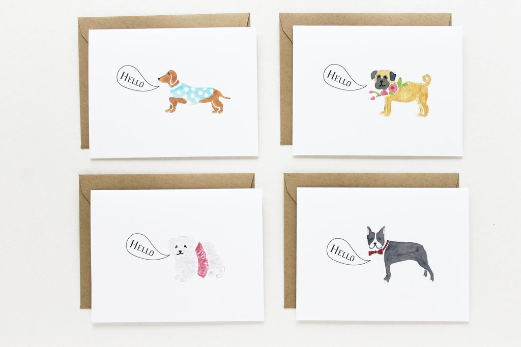 Assorted Small Dogs Set