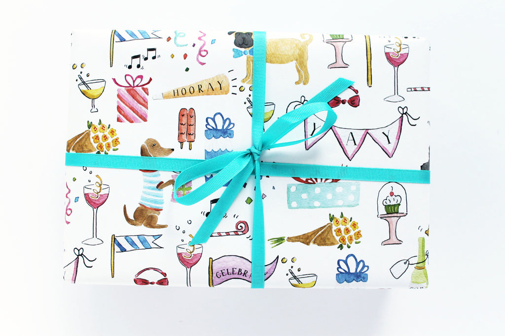 Celebrate Dogs Wrapping Sheets