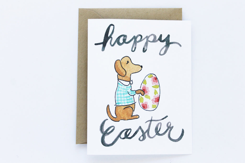 Easter Dog Card