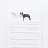 Boston Terrier Notepad