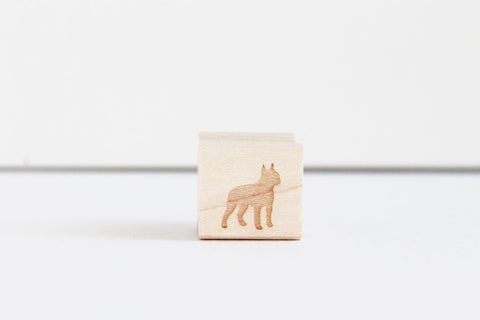 Little Boston Terrier Stamp