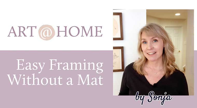 Easy Framing Without a Mat