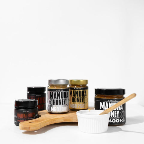 Different Manuka Honey MGO concentrations